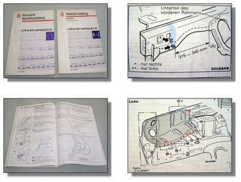 Mitsubishi Lancer Wagon Werkstatthandbuch + Ergänzung