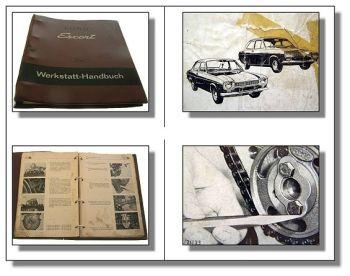 Ford Escort Werkstatthandbuch ca. 1968
