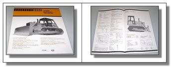 Case 1150C Hydraulik-Tilt-Dozer technische Daten 1979