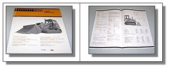 Case 1150C Laderaupe technische Daten 09.1979