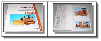 Case 1550 Planierraupe technische Daten 04.1991