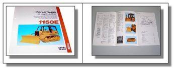 Case 1150E Planierraupe technische Daten 04.1991