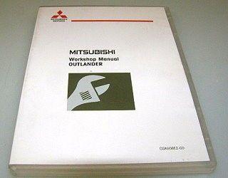 Mitsubishi Outlander CW0W 2008 Werkstatthandbuch CD Reparaturanleitung