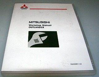 Mitsubishi Outlander MJ 2008 Werkstatthandbuch CD 08/2007 Reparaturanleitung