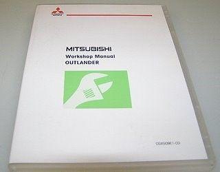 Mitsubishi Outlander CW0W 2009 Werkstatthandbuch CD Reparaturanleitung