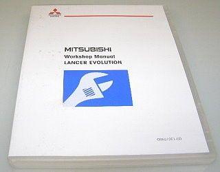 Mitsubishi Lancer Evolution CZA4 2012 Werkstatthandbuch DVD Reparaturanleitung