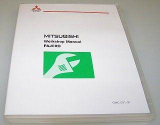 Mitsubishi Pajero V80 V90 2011 Werkstatthandbuch DVD Shogun Montero