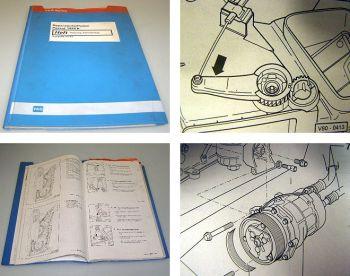 Reparaturleitfaden VW Passat B3 35i Werkstatthandbuch Klimaanlage & Heizung 1993