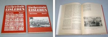 Lutherstadt Eisleben in 2 Bänden, Kurt Lindner ca. 1983