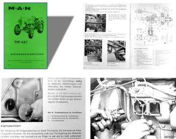 MAN 4K1 Ackerdiesel Betriebsanleitung & Wartung
