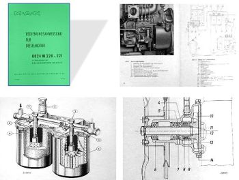 MAN 2S2 4S2 Motor 0024 M220-221 Betriebsanleitung