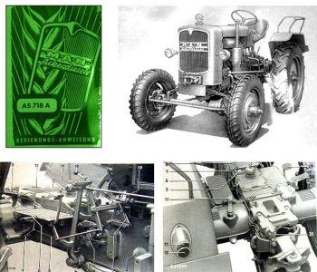MAN AS 718A, B18A/O Betriebsanleitung & Wartung