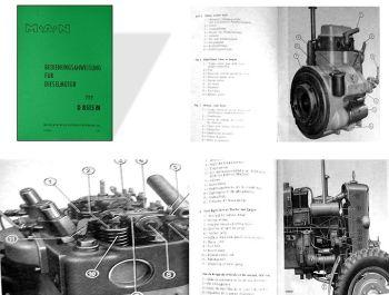 MAN B18A Schleppermotor D8515 M Betriebsanleitung
