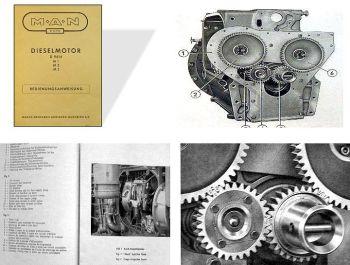 MAN D9614 M1 /-M2 / -M3 Betriebsanleitung Dieselmotor