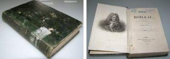 Oeuvres de Boileau Werke des Boileuau, 1845