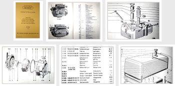 MWM D226 Ersatzteilliste Ersatzteilkatalog Spares List