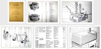 MWM D208 Ersatzteilliste Ersatzteilkatalog Spares List