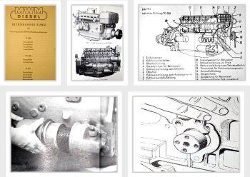 MWM D208 TD208 D225 2-6 Betriebsanleitung Reparaturanleitung