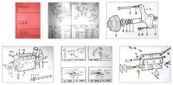 MWM D232-8 TD232 V8 Ersatzteilkatalog Spares List
