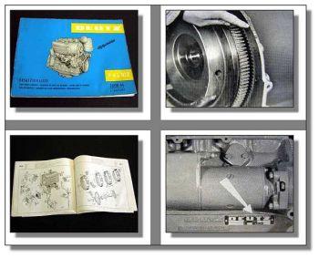 Deutz F4L 812 Motor Ersatzteilliste 1965 Ersatzteilkatalog