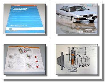 SSP 115 ASR im Audi 100 200 C3 Typ 44 Selbststudienprogramm Antischlupfregelung