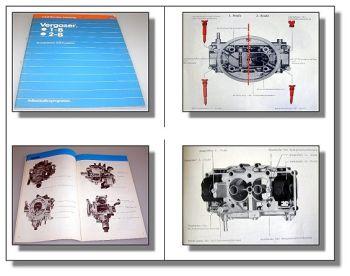 SSP 30 1B 2B Vergaser 1-B 2-B VW Passat Iltis Audi 80 ... Selbststudienprogramm