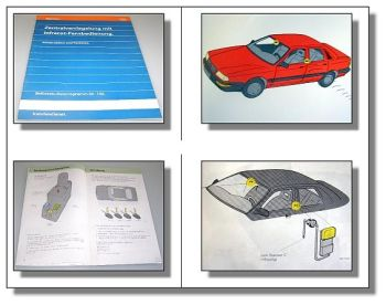 SSP 132 Zentralverriegelung Infrarot im Audi V8 / 100 C4 Konstruktion Funktion