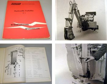 Schaeff HT2 Betriebsanleitung Ersatzteilliste 1963
