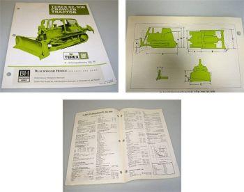 Terex 82-30B Planierraupe 245 PS Technische Daten