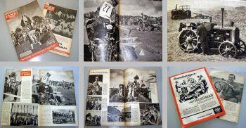 Land im Bild Hanomag Schlepper 11/1958