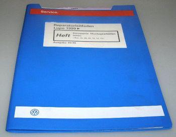 VW Lupo Werkstatthandbuch Reparatur Karosserie Innen