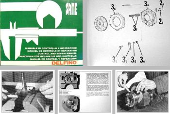 Same Delfino Werkstatthandbuch Reparatur & Kontrolle