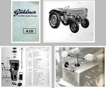 Güldner A2D Ersatzteilliste & Reparaturanweisung