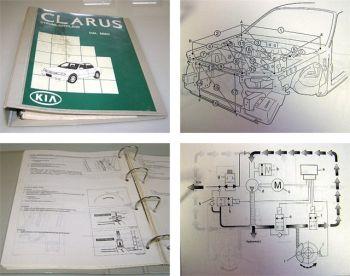 Kia Clarus MMO Werkstatthandbuch Ergänzung 1999
