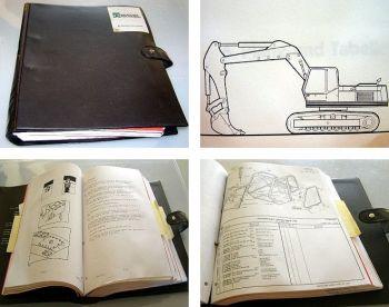 O&K RH20 PMS TGD24 Werkstatthandbuch & Ersatzteilliste Orenstein & Koppel