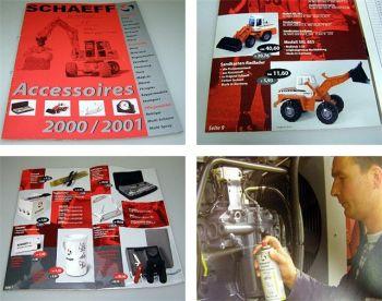 Schaeff Accessoires 2000/2001 Katalog Modelle Werbung