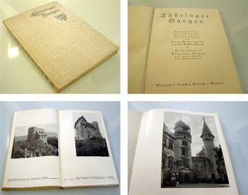 Thüringer Burgen - Überblick und Chronik, 1932