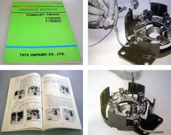 TCM FTB15S2 FTB18S2 Forklift Truck Service Manual 1992