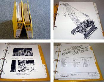 Liebherr HS852 HD Bagger Werkstatthandbuch 2 Bände