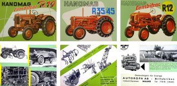 Hanomag R12 R19 R35 R45 Traktoren technische Daten