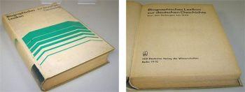 Biographisches Lexikon zur deutschen Geschichte 1970