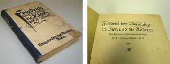 Friedrich der Vorläufige Weimar 1919