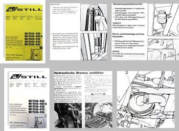 STILL R50-10 bis R50-16 Gabelstapler Wartungsanleitung