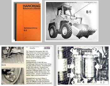 Hanomag B6 Radlader Betriebsanleitung