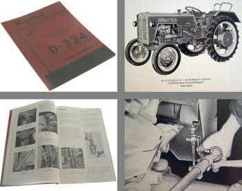 Mc Cormick D-324 Standard Bedienungsanleitung 1959