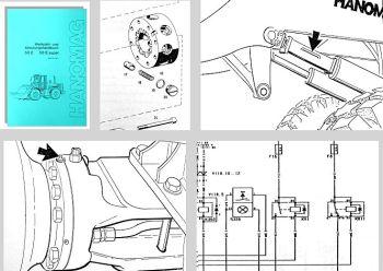 Hanomag 50E 50E Super Schulung Werkstatthandbuch 1993