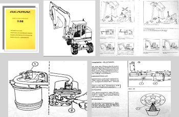 Benmac 3.08 Mobil Hydraulikbagger Betriebsanleitung