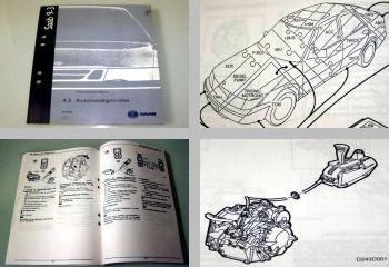 Saab 9-3 Modell 1 Typ YS3D Werkstatthandbuch Automatikgetriebe Modell ab 1998