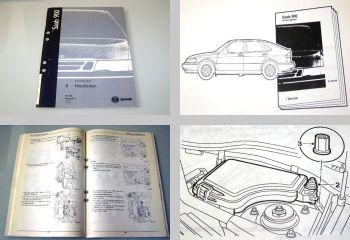 Saab 900 Werkstatthandbuch Neuheiten Modelljahr 1998