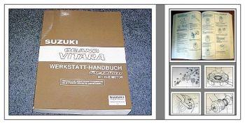 Werkstatthandbuch Suzuki Grand Vitara SQ420WD RHZ Reparaturanleitung 2002